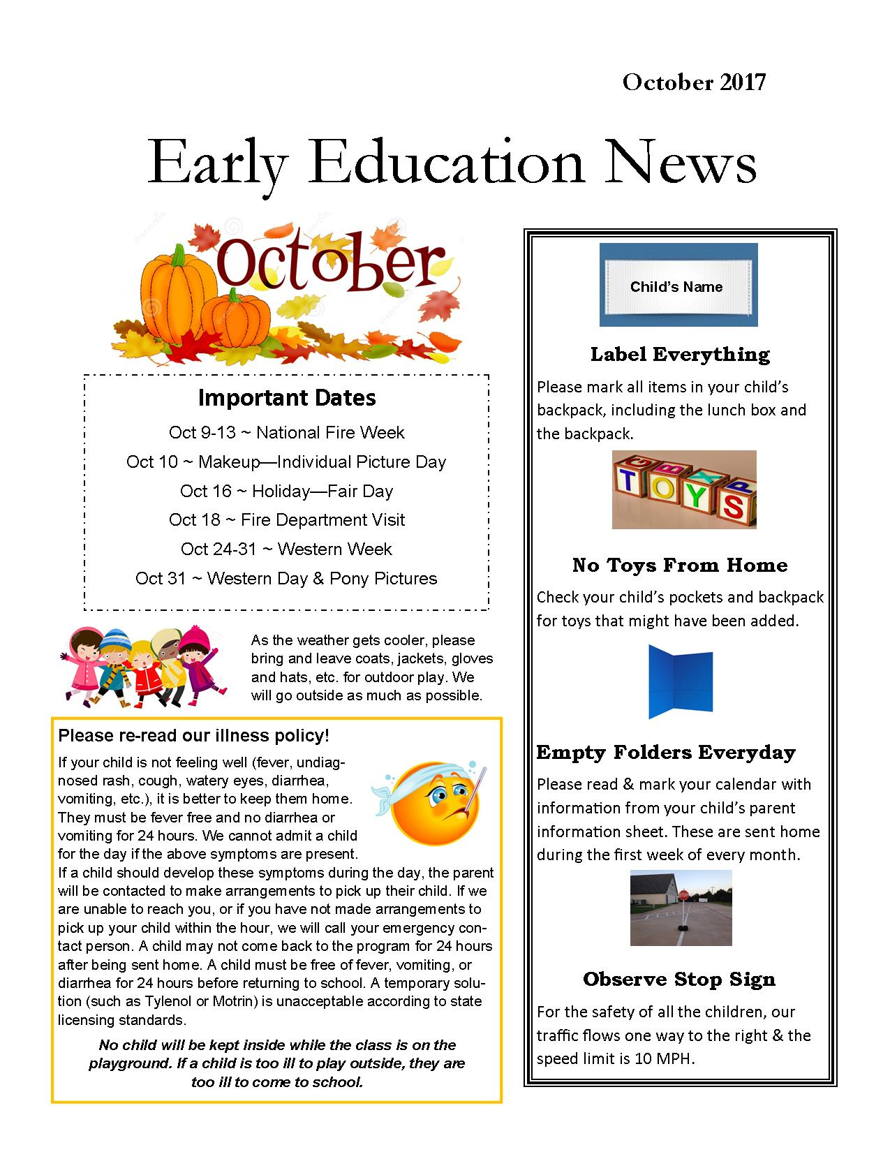 2017 Oct Newsletter page 2