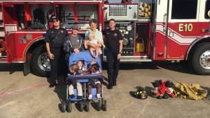 EE Firetruck stroller